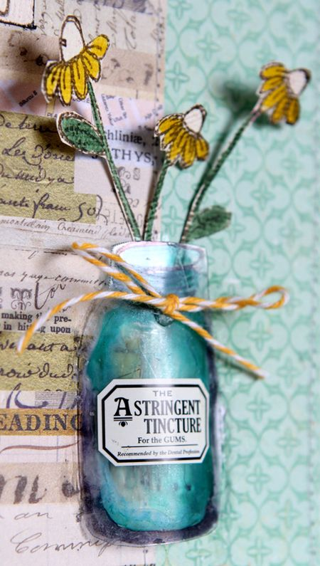 Ronda Palazzari - Thinking of You Card detail