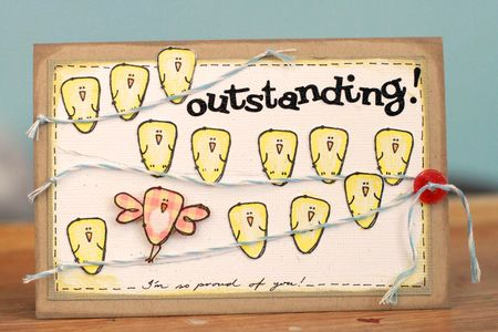 Sharon Ong - Outstanding card