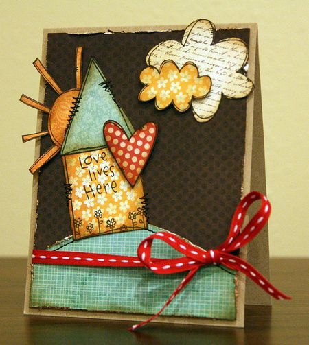 Jenn Biederman - Home Sweet Home Card