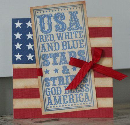 USA Noteblock card