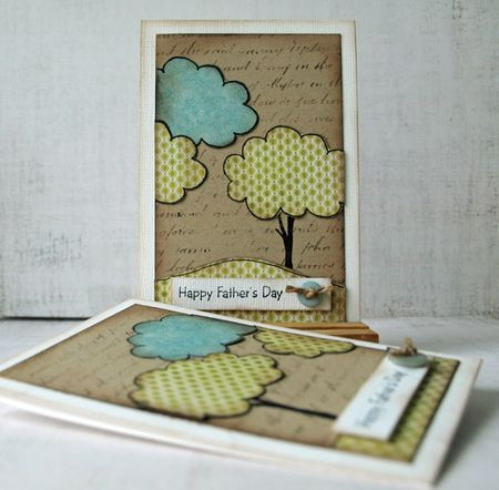 Julie dudley happy fathers day card set
