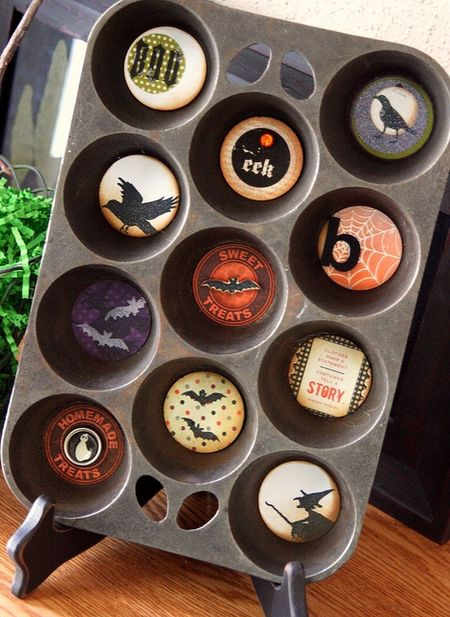 Jenn Biederman - Halloween Muffin Tin