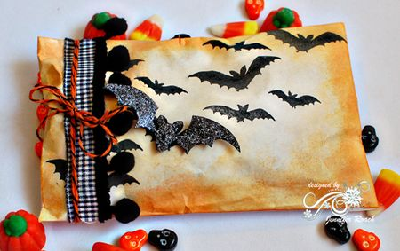 Jennifer Roach - POD treat bag Bats