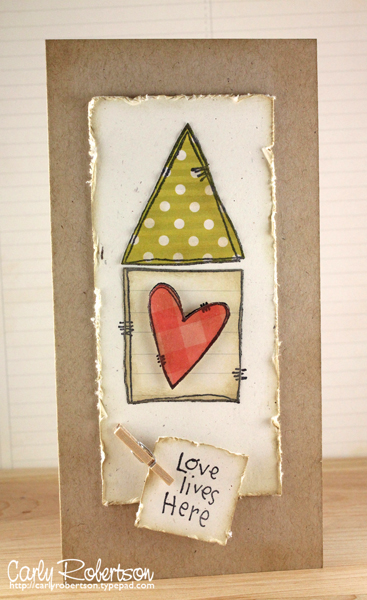 Carly Robertson - Love Lives Here Card