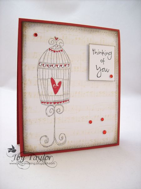 Joy Taylor - Birdcage Card