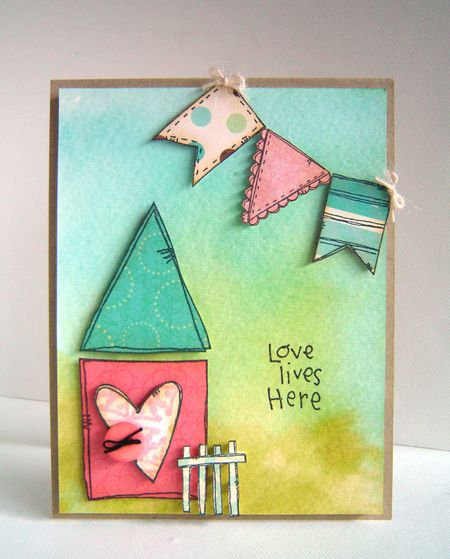 Alice Wertz - Love Lives Here Card