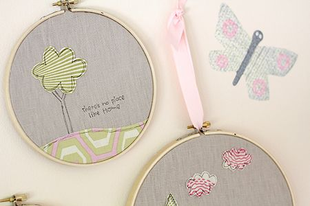 Carly Robertson - Tree Hoop Decor