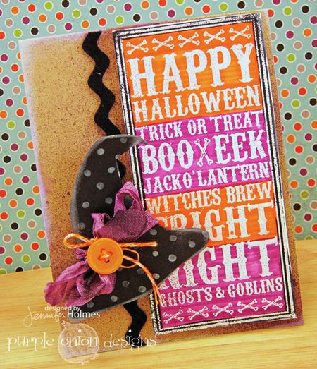 Jennifer Holmes - Halloween Noteblock Witches Hat