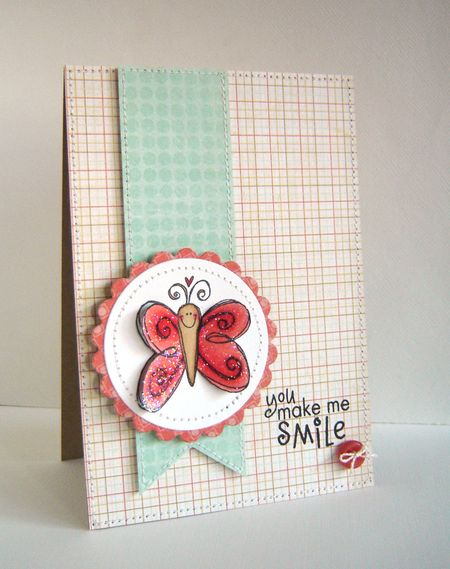 Alice Wertz - Love Butterfly Card