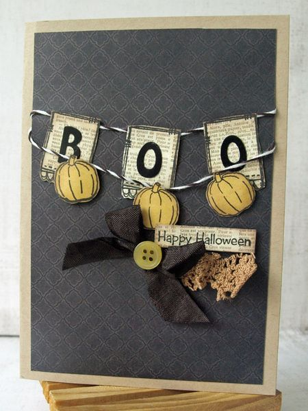 Julie dudley halloween card