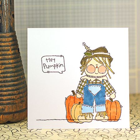 Courtney Kelley - Hey Pumpkin Scarecrow