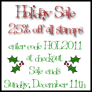 Holiday Sale 2011 -blog