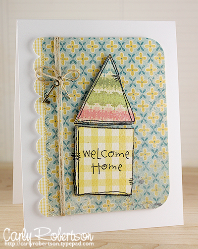 Carly Robertson - Welcome Home key Card