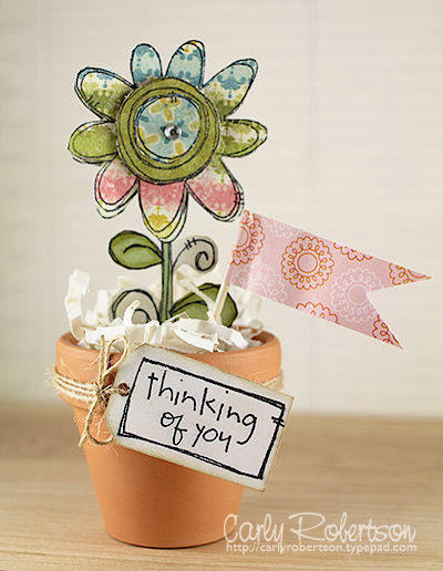 Carly Robertson - Thinking of You Potted Flower