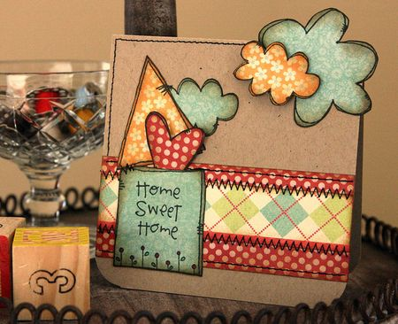 Jenn Biederman - Home Sweet Home Card 2