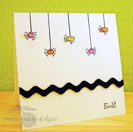 Jennifer Holmes - Eeek Card