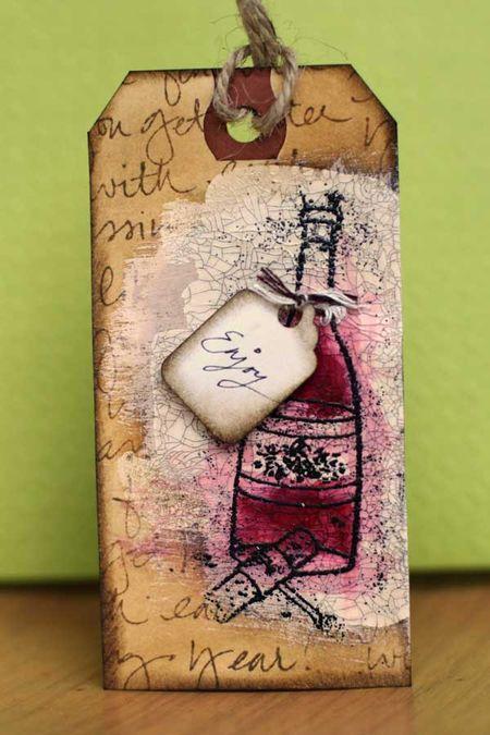 Sharon - wine tag
