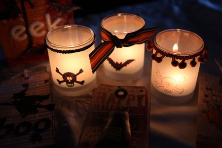 PO Ronda Halloween Votives