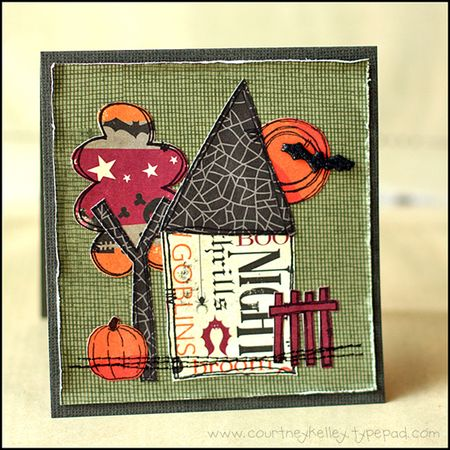 Courtney Kelley - Halloween House