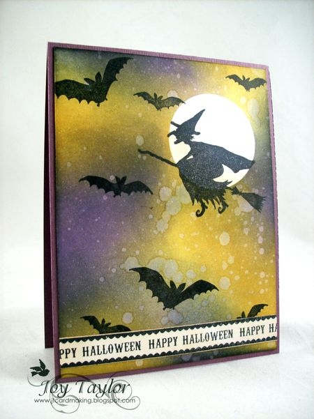 Joy Taylor - Halloween Card