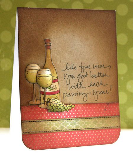 Jenn Biederman - Like Fine Wine Card