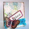 Alice Wertz - Butterfly Card
