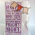 Alice Wertz - Halloween Noteblock Treat Bag