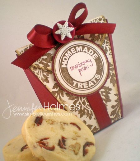 Jennifer Holmes - Homemade Treats - Cranberry Pecan Cookies