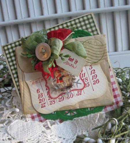 Cherry Nelson - let it now calendar card