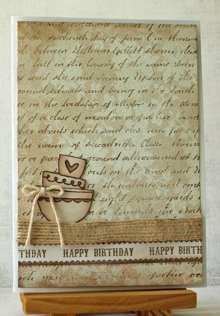 Julie dudley birthday card 2