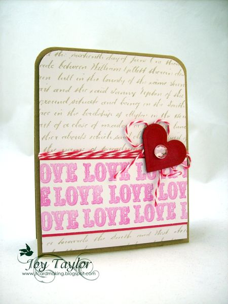 - Joy Taylor - Love Card
