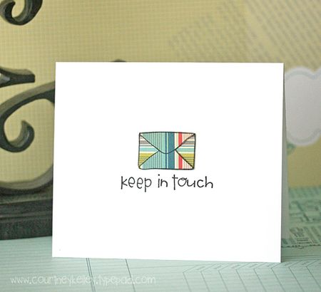 Courtney - Keep in Touch Envelope