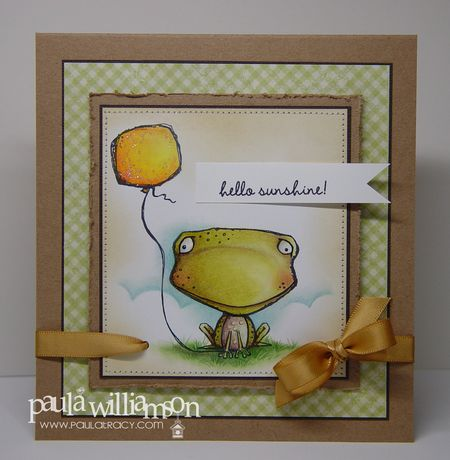 Paula Williamson - frogpodesigns