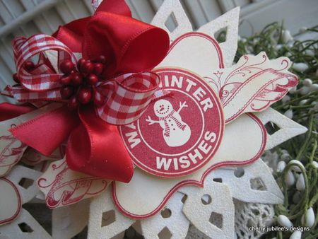 Cherry Nelson - Warm Winter Wishes Logo Tag