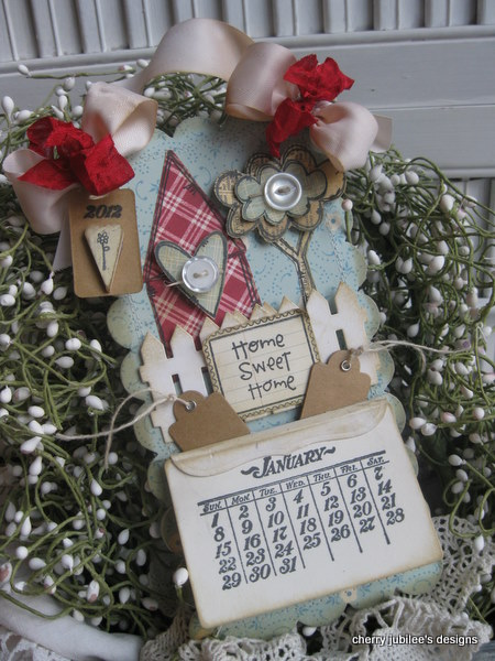 Cherry Nelson - Home Sweet Home Perpetual Calendar