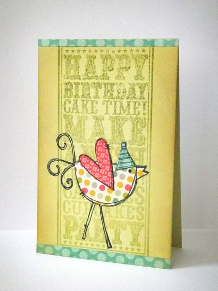 Donna Mikasa - Birthday Party Chick Card