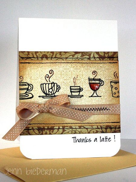 Jenn Biederman - Thanks a Latte Card