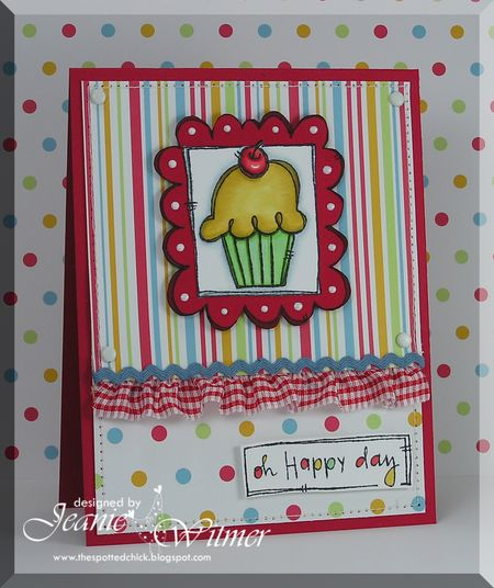 Jeanie Witmer - Doodle Cupcake