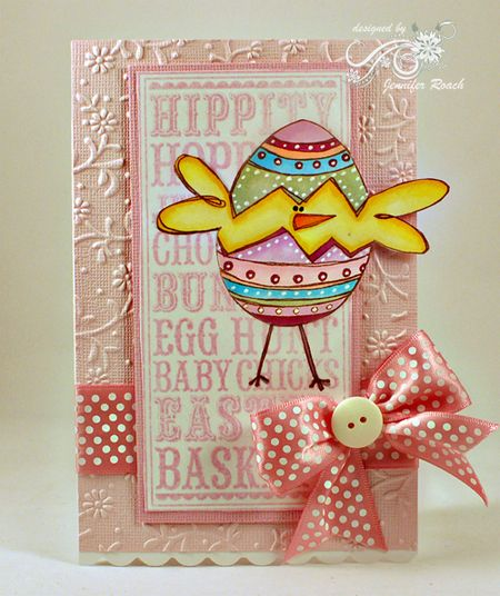 Jen Roach - Easter Noteblock with SA Chickie