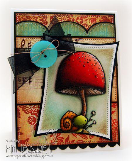 Kim Teasdale - Mushroom and Snail