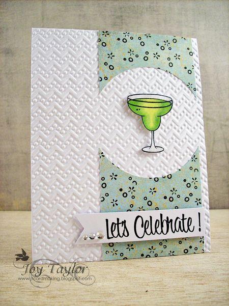 Joy Taylor - Margarita Card