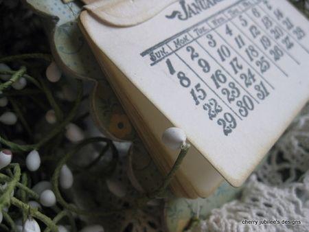Cherry Nelson - HSH Perpetual Calendar Month cu