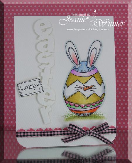 Jeanie Witmer - Cracked Egg Bunny