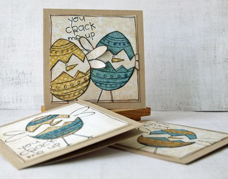Julie dudley easter card set