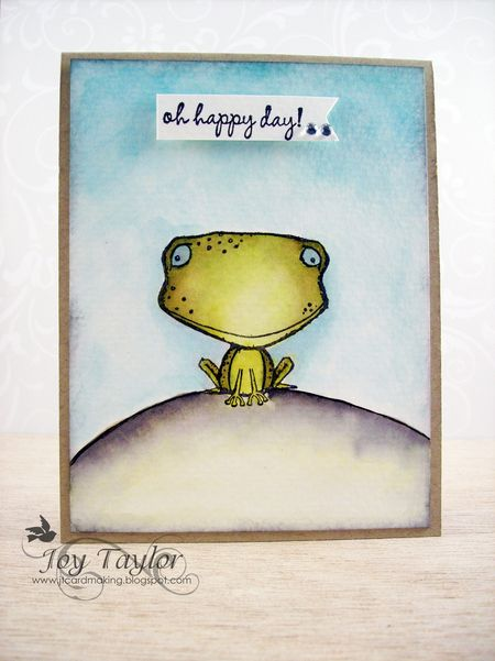 Joy Taylor - Frog2 card