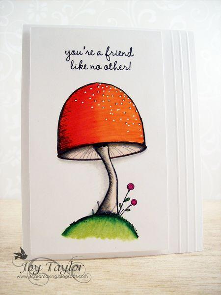 Joy Taylor - Mushroom Card