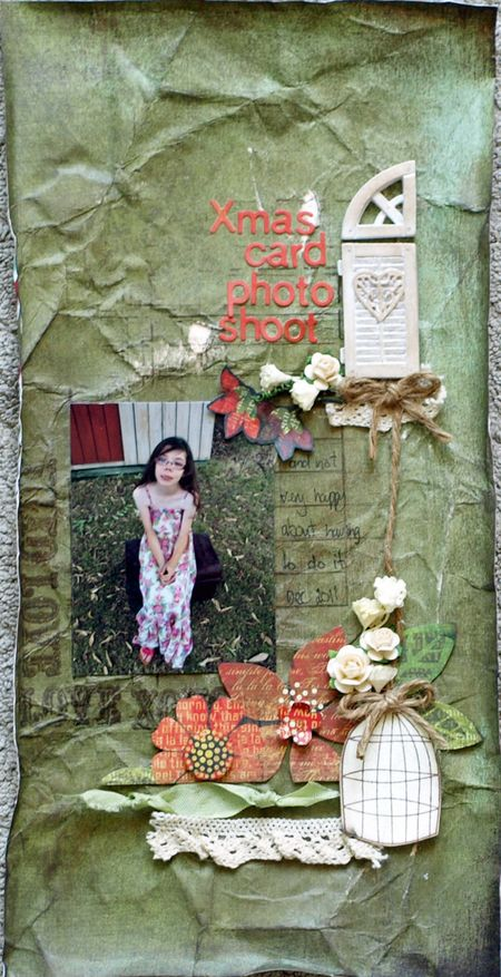 Julie dudley xmas card photo shoot layout