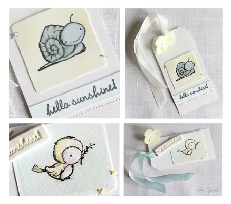 Stacey Yacula - PEEP & TUCKER GIFT CARD DESIGNS