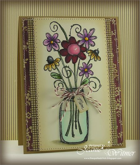 Jeanie Witmer - Flower and Container Card