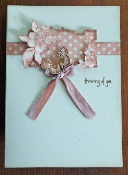 Julie dudley June thinking of you card